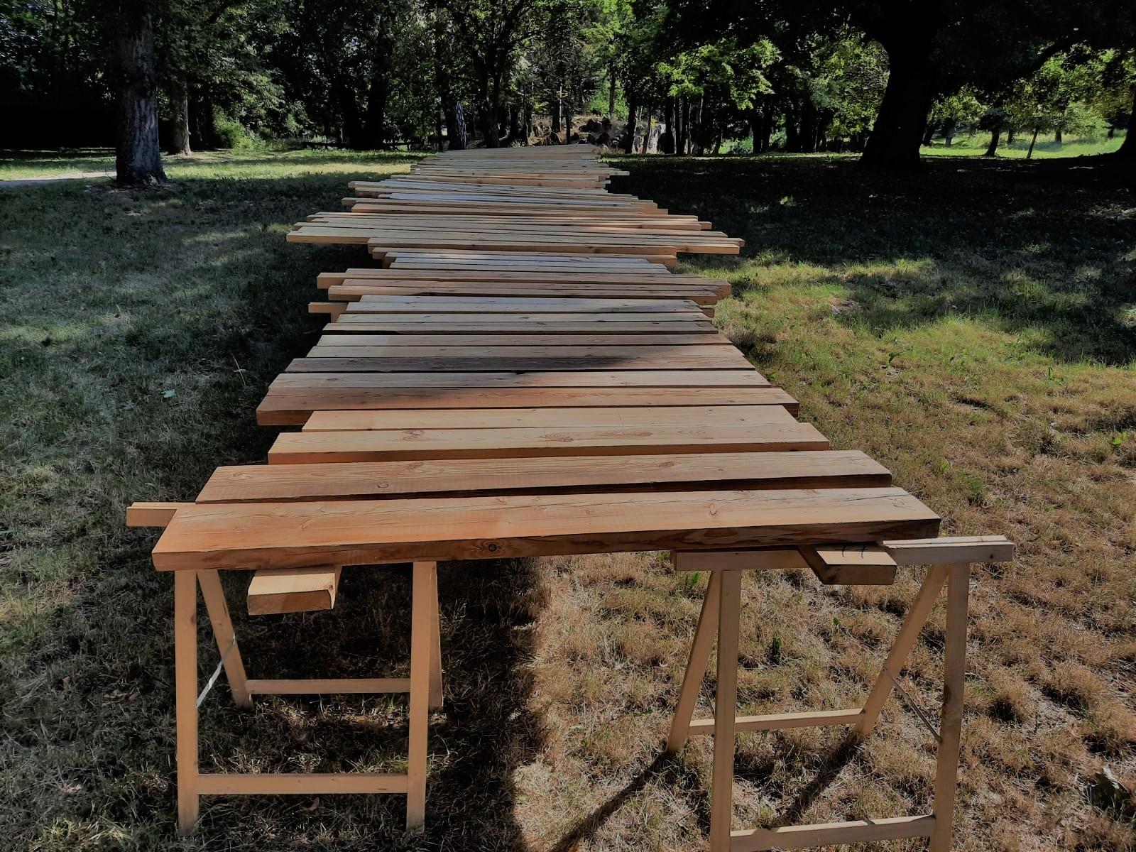 """Kurs brakarski """"Wytrzymałościowe sortowanie drewna konstrukcyjnego metodą wizualną"""" grudzień 2020"""